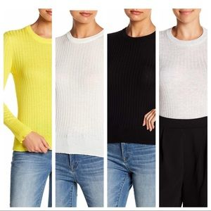 4-for-1 Elodie Ribbed Crew Neck Sweater